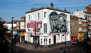 Ad-wraps on Camden Barfly