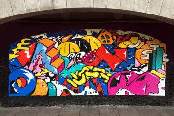 Darren John Aberdeen Art Wall