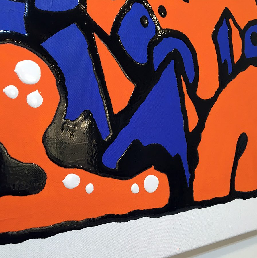Darren John Artist Painting