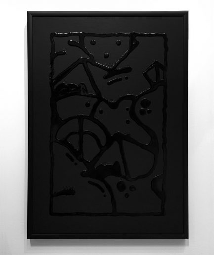 Darren John Artist Black on Black