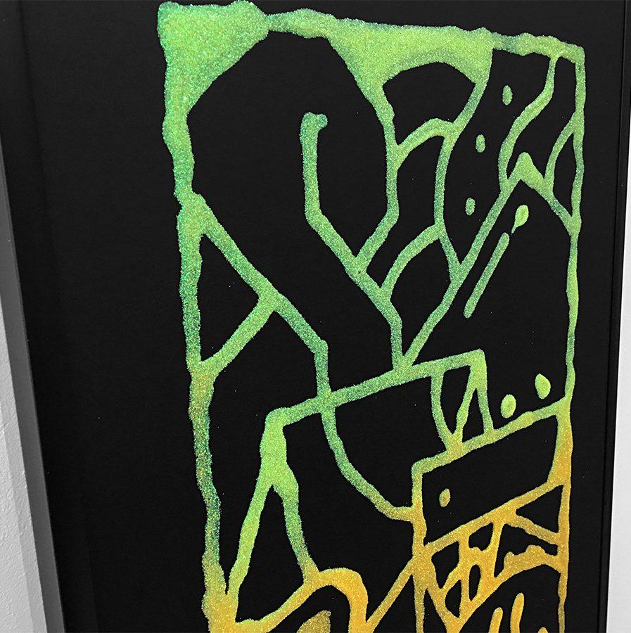 Darren-John-Glitter-Fade-Painting-detail-1