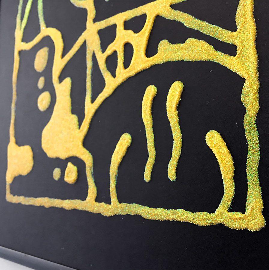 Darren-John-Glitter-Fade-Painting-detail-3