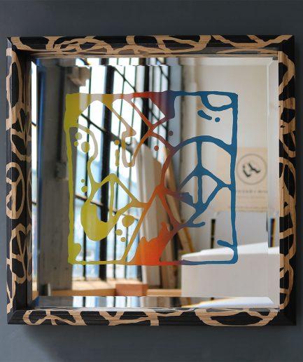 Darren John Peace Artwork Mirror
