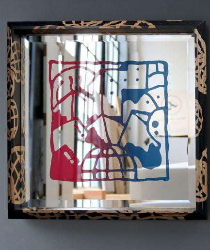Darren John Worldwide Artwork Mirror