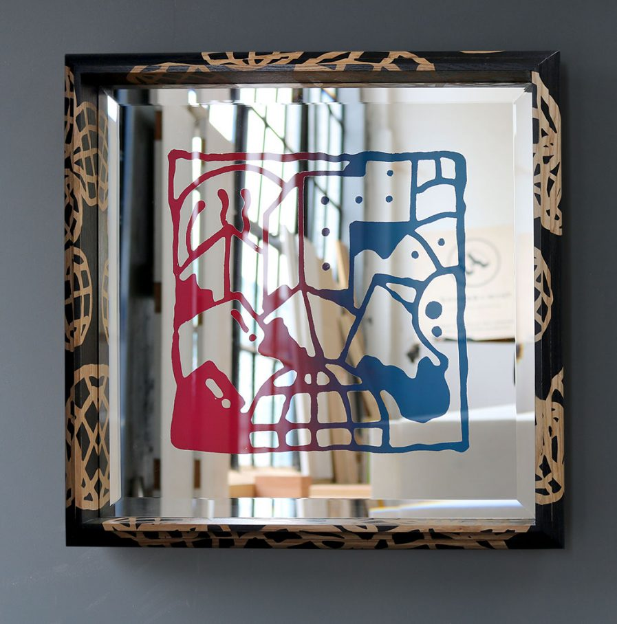 Darren John Worldwide Artwork Mirror