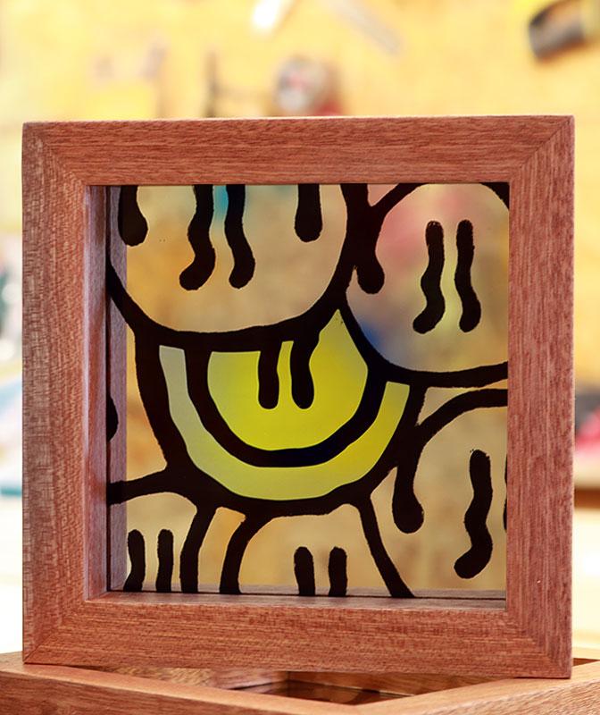Darren John Smile Mirror