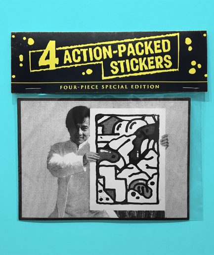 Darren John Action Sticker Pack