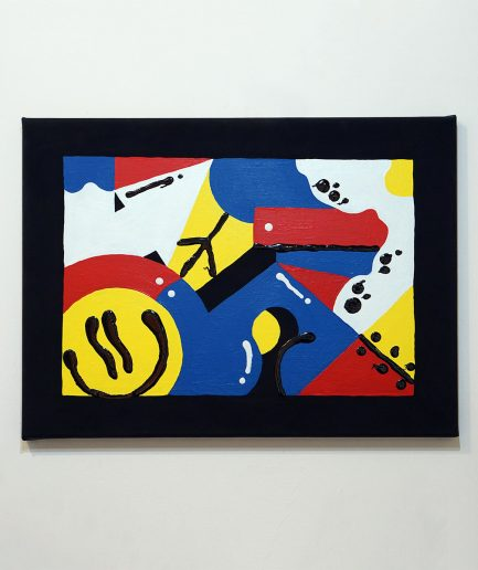Darren John Parallax Painting 201