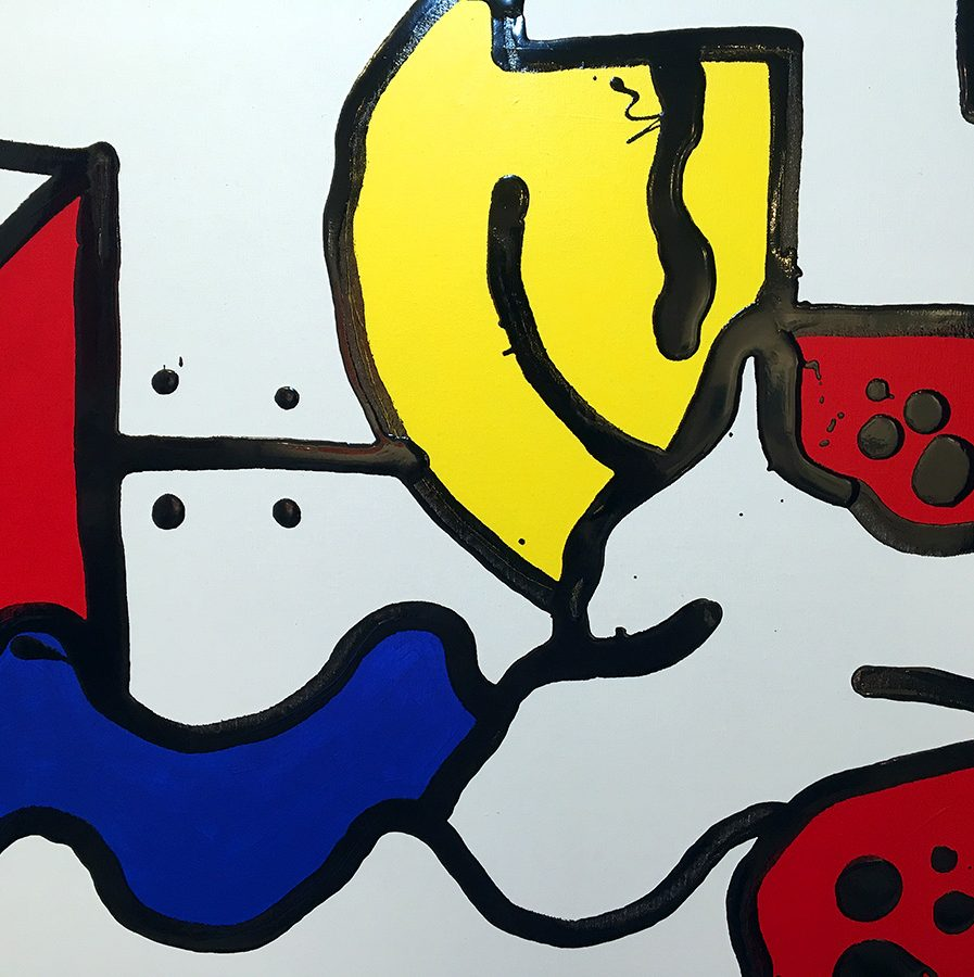 Darren John Painting - Parallel Primary 103