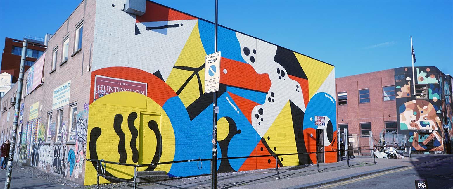 Darren John Chance Street Mural