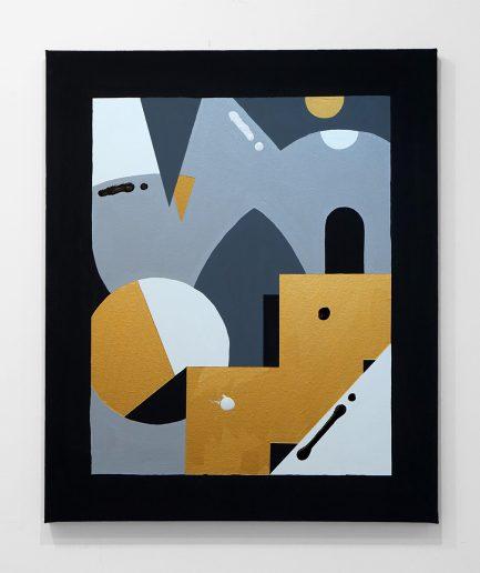 Darren John Parallax Painting 204