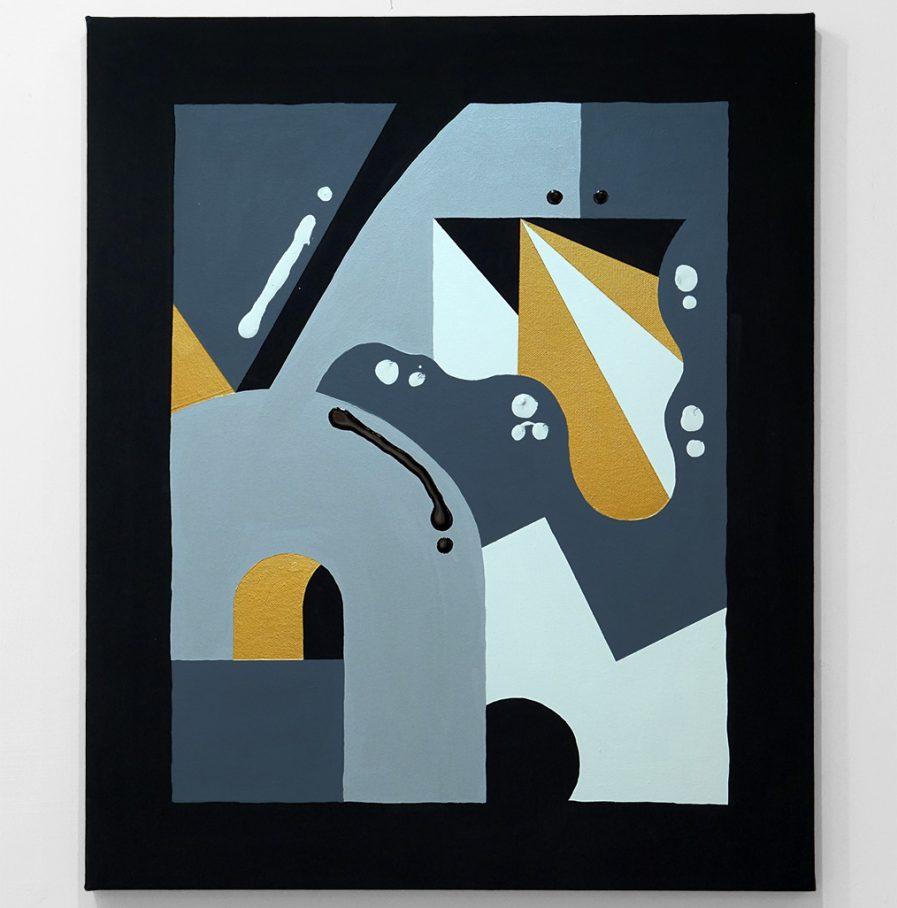 Darren John Parallax Painting 205