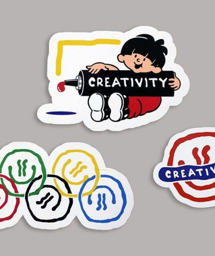 Darren John Creativity Sticker Pack