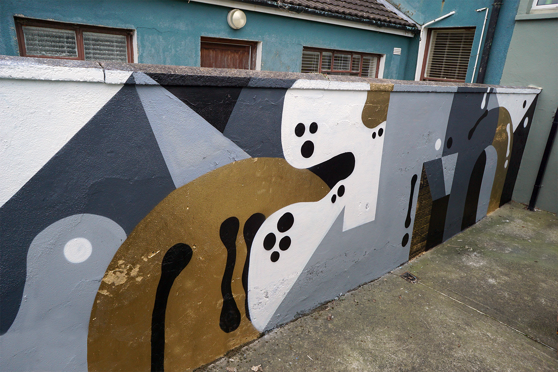 Darren John Parallax Garden Wall Mural Cork