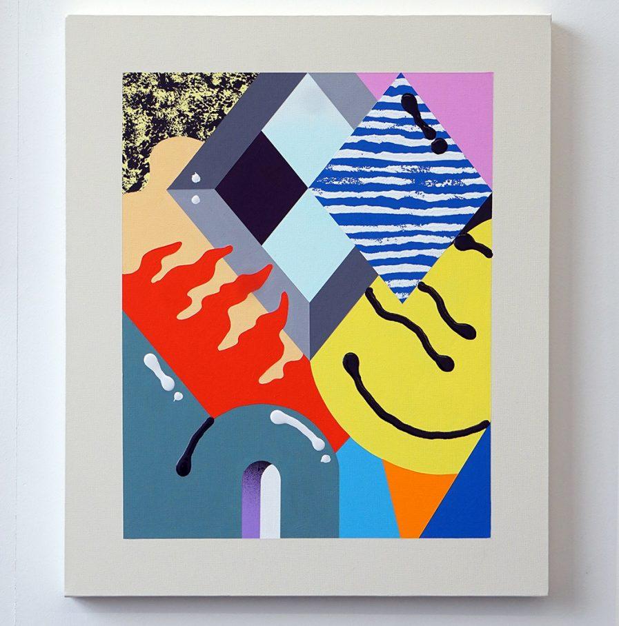 Darren John Parallax Textures Canvas