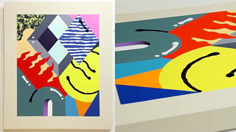 Darren John Abstract Painter London