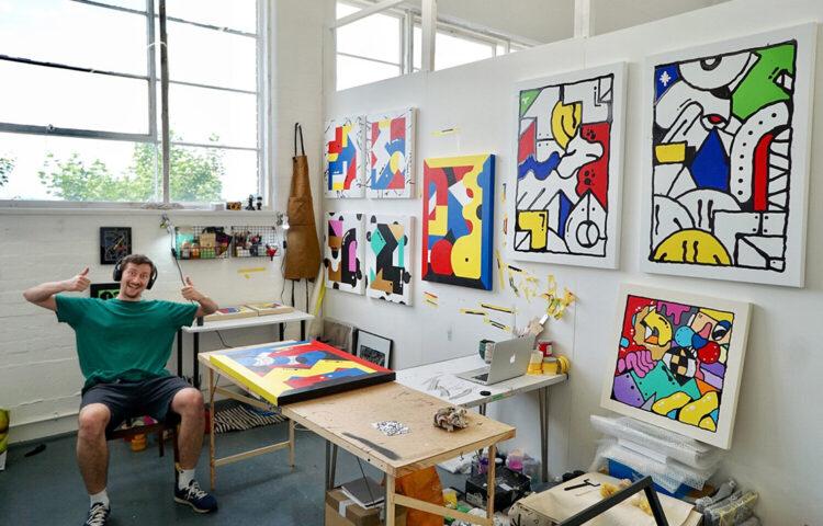 Darren John Creative Artist Studio London