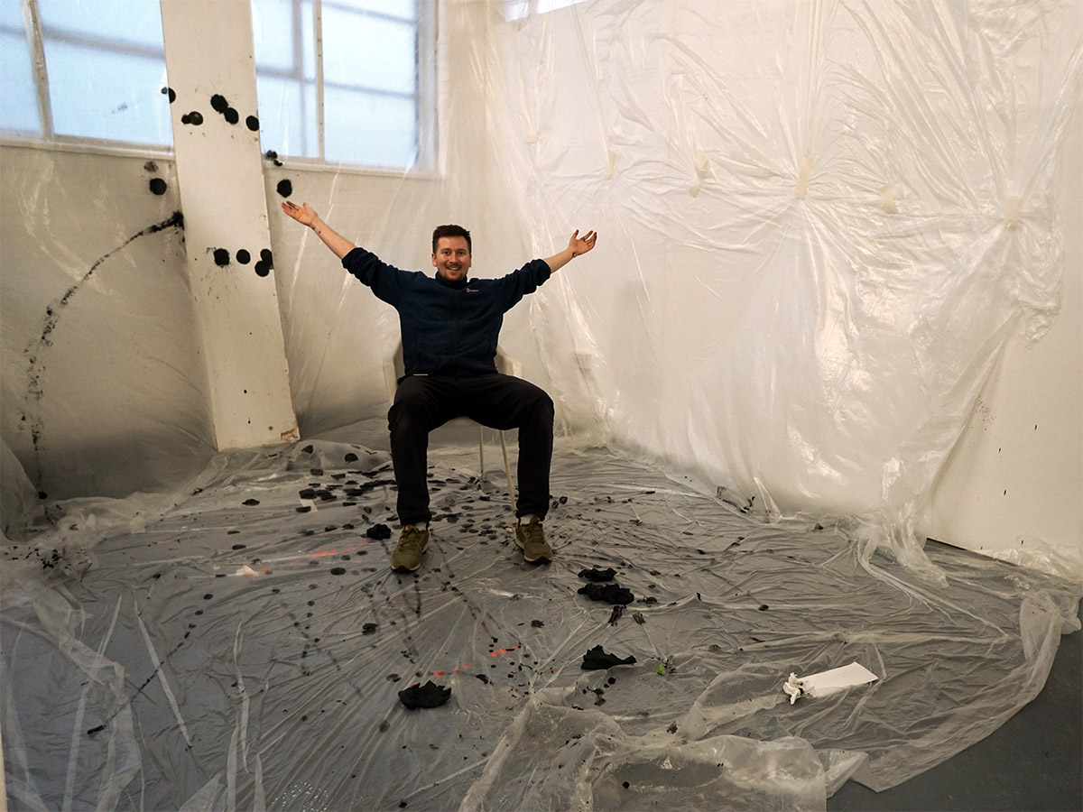 Darren John Artist Studio