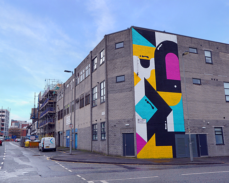 Darren John Liverpool Public Mural