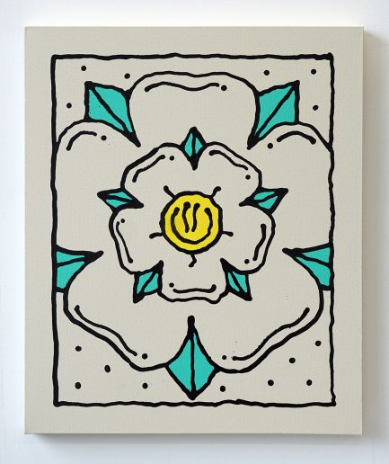 Darren-John-Yorkshire-White-Rose-Abstract-Painting-web