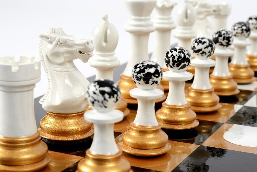Darren-John-hand-painted-chess-set-White-pieces